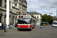 Trolleybuses Switzerland Winterthur 0002