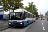 Trolleybuses Switzerland Zurich 0001