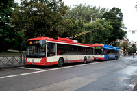 Trolleybuses Lithuania Vilnius 0003