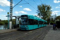 Trams Germany Frankfurt Main 0004
