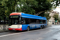 Trolleybuses Lithuania Vilnius 0004